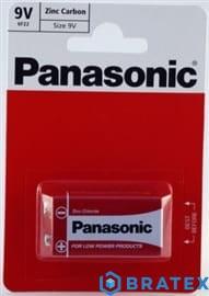 bateria cynkowo-węglowa Panasonic 6F22 (blister)