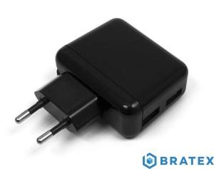 ładowarka sieciowa eXtreme 2xUSB 2,1A (bez kabla)