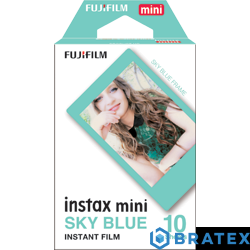 Fuji Instax mini film blue