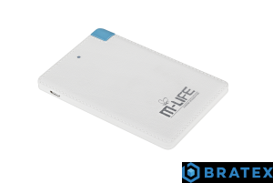 POWER BANK M-LIFE 2500mAh z kablem w komplecie ML0644