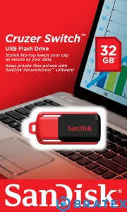 Pamięć flash USB SanDisk Cruzer Switch 32GB USB 2.0