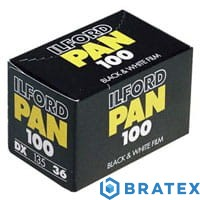 ILFORD PAN 100/135/36