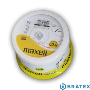 Maxell CD-R 700 MB 52x PRINTABLE CAKE 50 szt