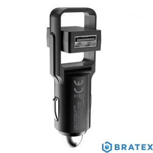 PLATINET CAR CHARGER ROTATION USB 2xUSB 4.8A