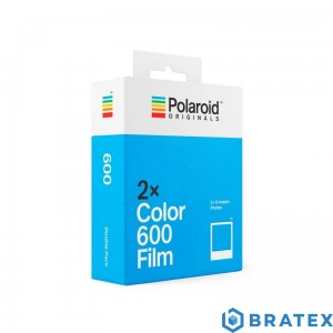Polaroid color 600 film 2x8 Twin