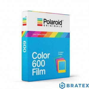 Polaroid color 600 film color frame