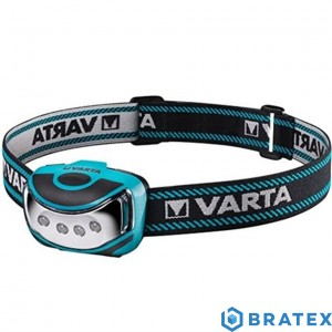 Varta Outdoor Sports H10 – latarka czołowa – LED + 3x (AAA) 16630