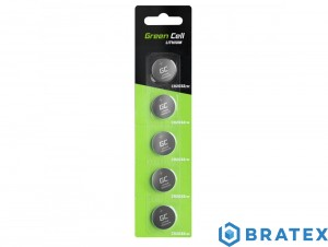 5x Bateria Litowa Green Cell CR2032 3V