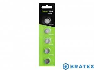 5x bateria Green Cell CR1620