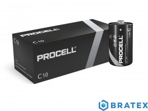10x BATERIA LR14/C DURACELL PROCELL