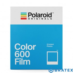 Polaroid color 600 film 1x8